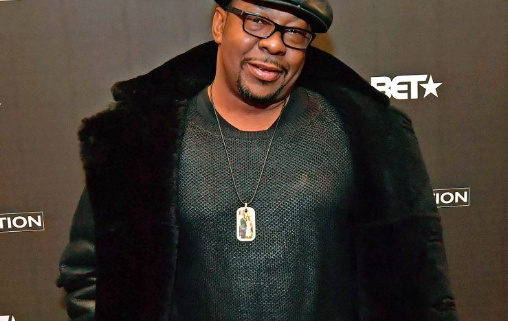 BOSTON, MA - JANUARY 08:  Bobby Brown attends BET's Boston screening of 'The New Edition Story' at AMC Boston Common on January 8, 2017 in Boston, Massachusetts.  (Photo by Paul Marotta/Getty Images for BET)